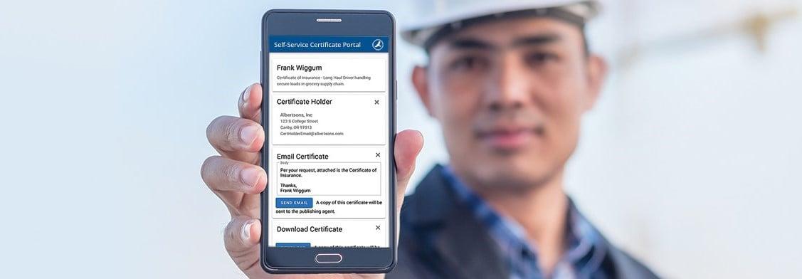 HawkSoft Self-service Certificates