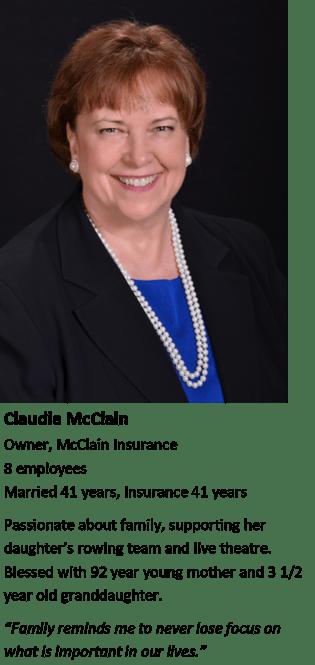 Claudia McClain - women in insurance