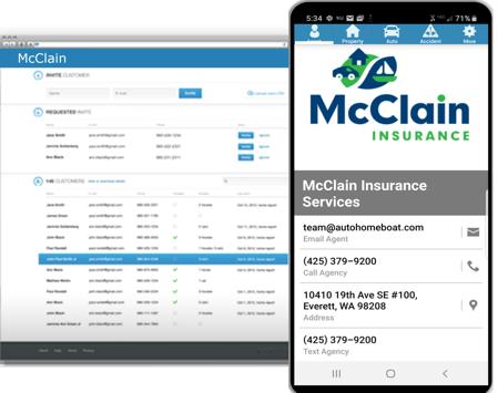 Insurance Agent Mobile App