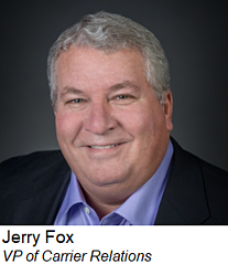 Jerry Fox, VP of Carrier Relationships