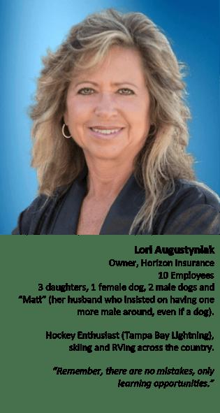 Lori Augustyniak, women in insurance