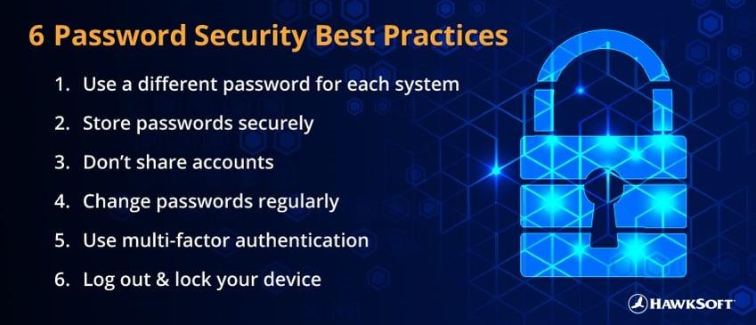 6 Password Security Best Practices