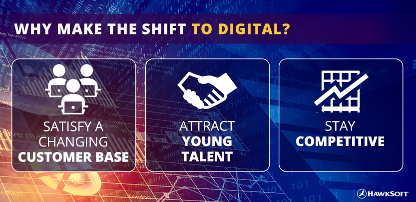 Why make the shift to digital?